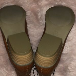Universal Thread Shoes - Universal Thread Tan Pull On Booties